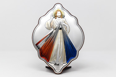 Divine Mercy Icon Wall Plaque.