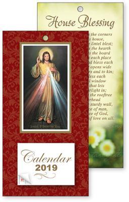 Divine Mercy Standing Calendar 2019.