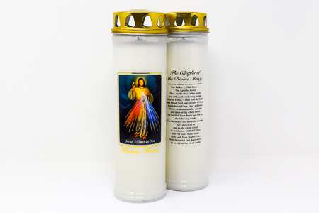 Divine Mercy Candle for 7 Days & 7 Nights.