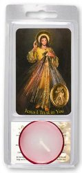 Divine Mercy Votive Candle.