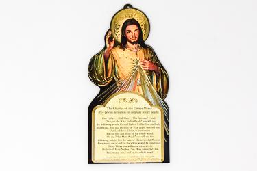 Divine Mercy Wood Plaque.