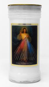 Pillar Candle - Divine Mercy.
