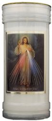 Pillar Candle - Divine Mercy.