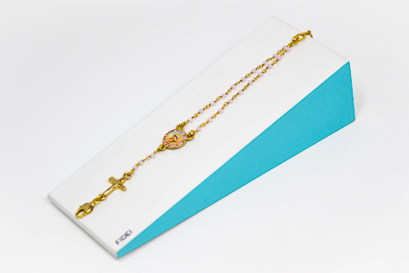 Double Decade Rosary Bracelet.