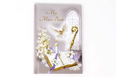 White Dove Confirmation Prayer Book.