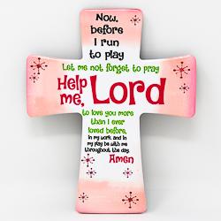 Easter Porcelain Cross.