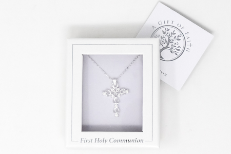 Communion Cross  Necklace.