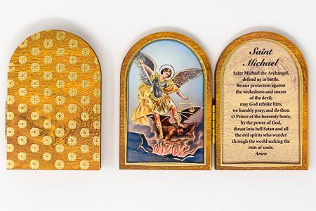 Saint Michael Wall Plaque.