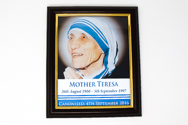 Framed Picture Book St Teresa.