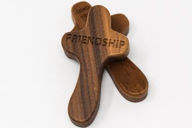Friendship Holding Cross.