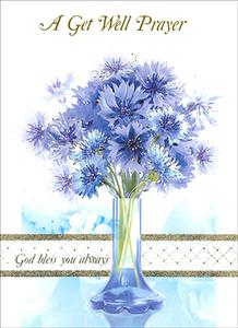 A Get Well Prayer Card.
