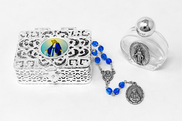 Gift Set with Our Lady of Sorrows Rosary.