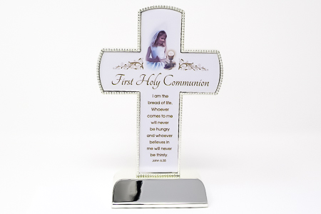 Girl's Chalice Communion Cross.
