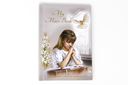 Girls Confirmation Prayer Book.