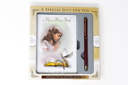 Confirmation Mass Book & Pen