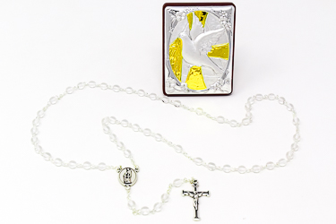 Confirmation Rosary Gift Set.