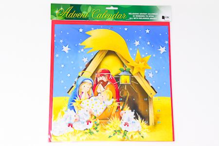 Christmas Nativity Advent Calendar.