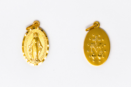 Gold Miraculous Medal
