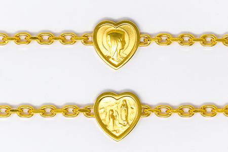 Lourdes Apparition Heart Bracelet.