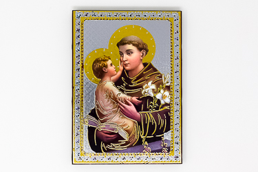 St Anthony Icon Wall Plaque.