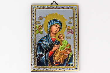 Our Lady of Perpetual Help Icon Wall Plaque.