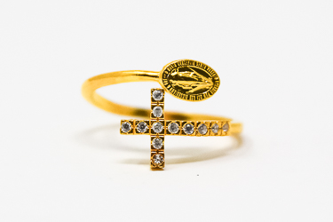 Gold Miraculous Ring.