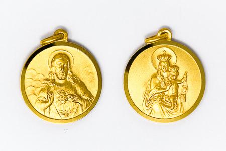 Large Scapular Medal.