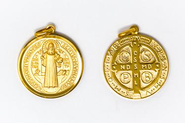 St Benedict Pendant.