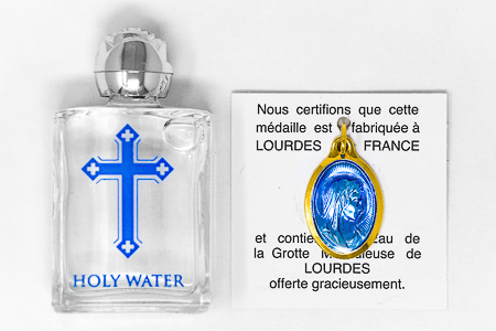 Blessed Holy Water & Pendant.