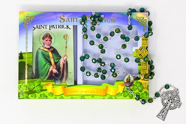 Green St.Patrick Rosary.