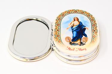 Hail Mary Handbag Mirror.