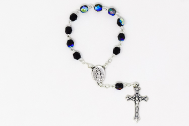 Handheld Black Rosary.