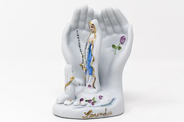 Hands Apparition Statue.