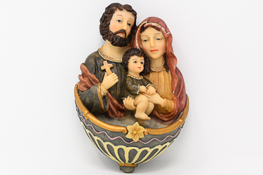 Holy Family Water Font.