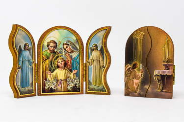Holy Family Triptych Plaque.