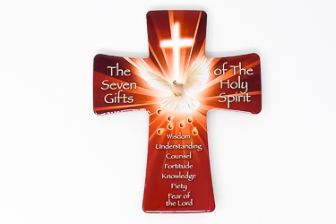 Seven Gifts Of the Holy Spirit Cross.
