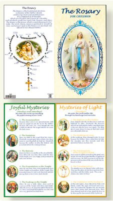 Booklet - How to Say the Rosary.