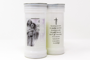 In Loving Memory - Candle