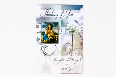 Jesus the Good Shepherd - Thinking of you Card.