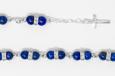 925 Lapis Lazuli Bracelet.
