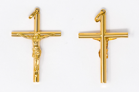 Gold Crucifix Pendant
