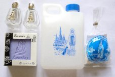 Lavender Soap & Lourdes Water Gift Set.