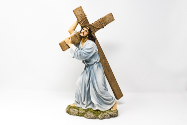 Lord Jesus Carrying The Cross Statue.