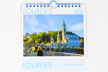 Lourdes Calendar 2021.