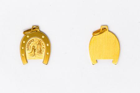 Lourdes Horse Shoe Pendant.