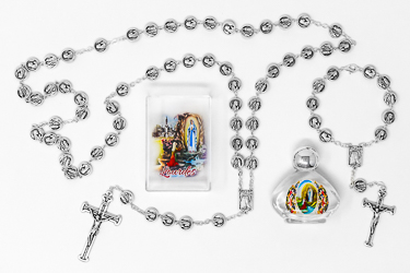 Lourdes Catholic Gift Set.