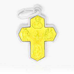 5 Way Miraculous Medal Cross