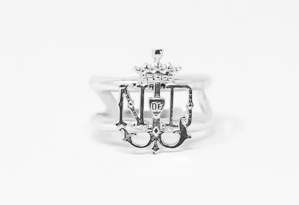 Lourdes Emblem Ring.