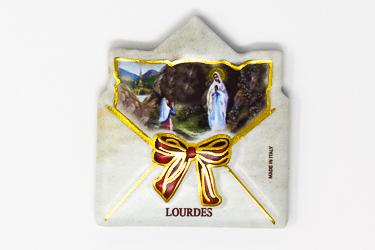 Lourdes Envelope Magnet.