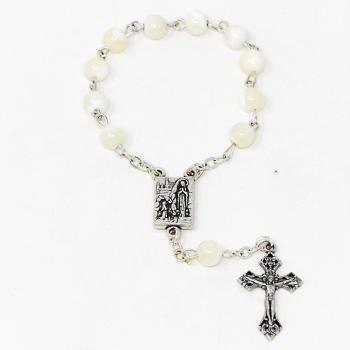 Lourdes Handheld Rosary Beads.